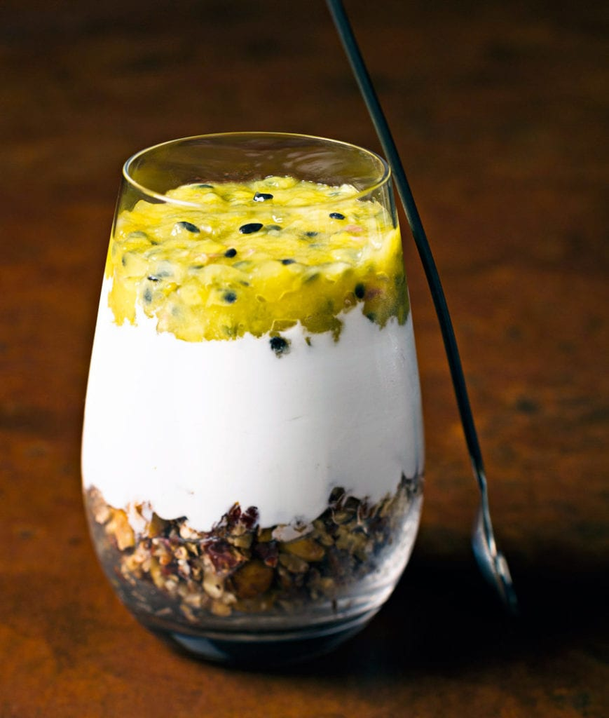 the-healthy-gut-australia-is-falling-in-love-with-sibo-friendly-recipes-Passionfruit-Parfait-dessert