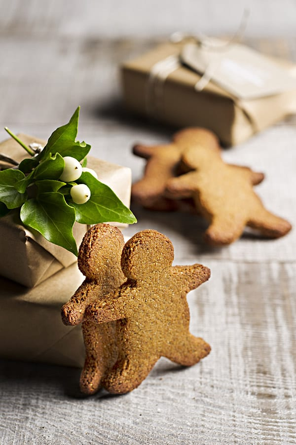 Rebecca Coomes The Healthy Gut blog SIBO gingerbread cookies recipe