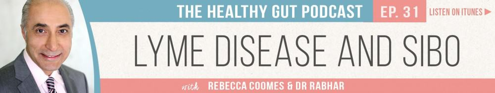 Rebecca Coomes The Healthy Gut with Dr Farshid Sam Rahbar on Lyme Disease and SIBO