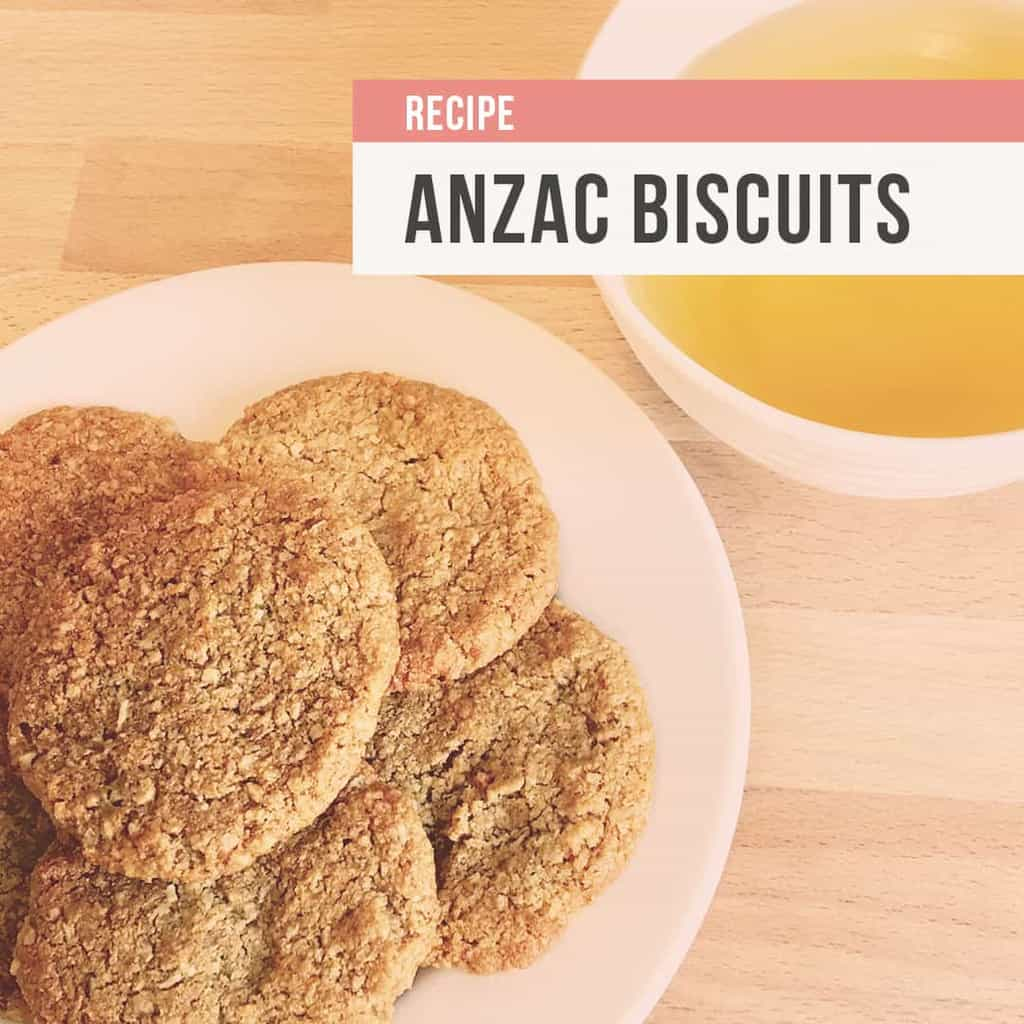 SIBO friendly Anzac biscuit recipe