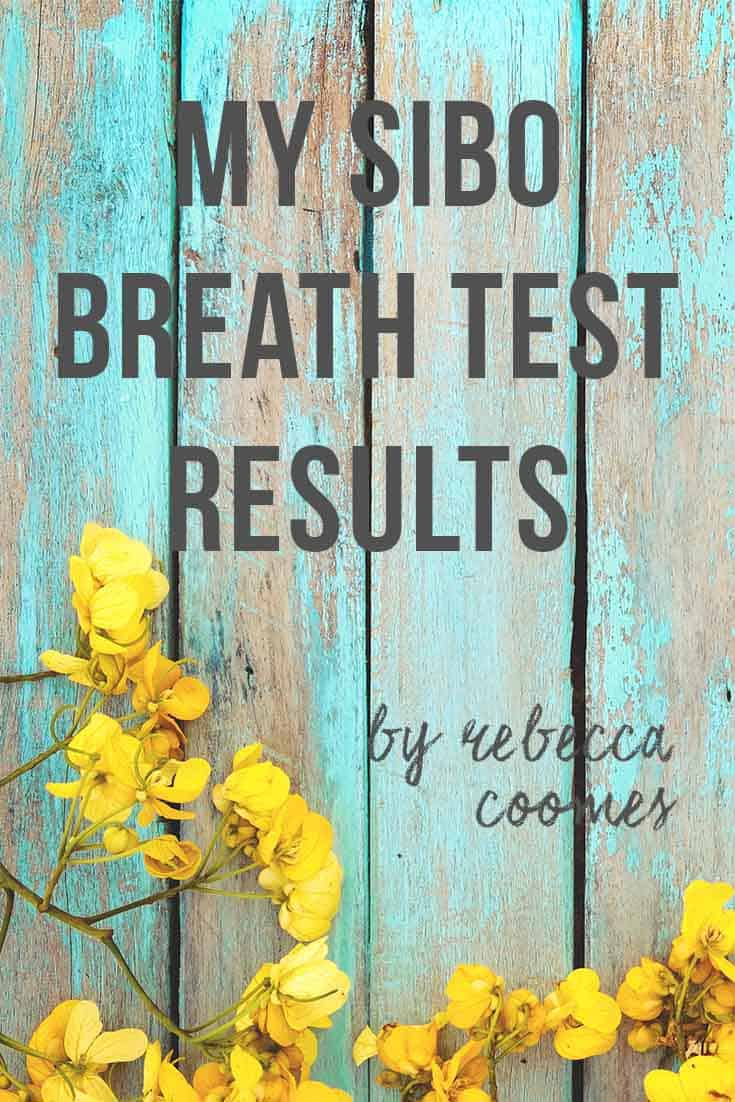 Rebecca Coomes' SIBO breath test results are in! Find out if she has SIBO again 3 years after her original diagnosis...