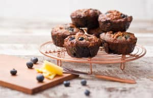 Rebecca Coomes Recipes Blueberry Muffins 596x384