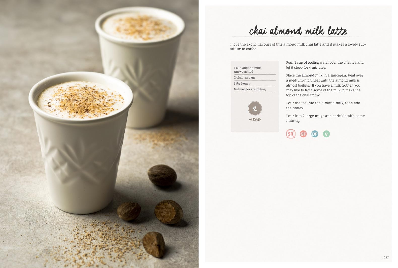 Chai Almond Milk Latte