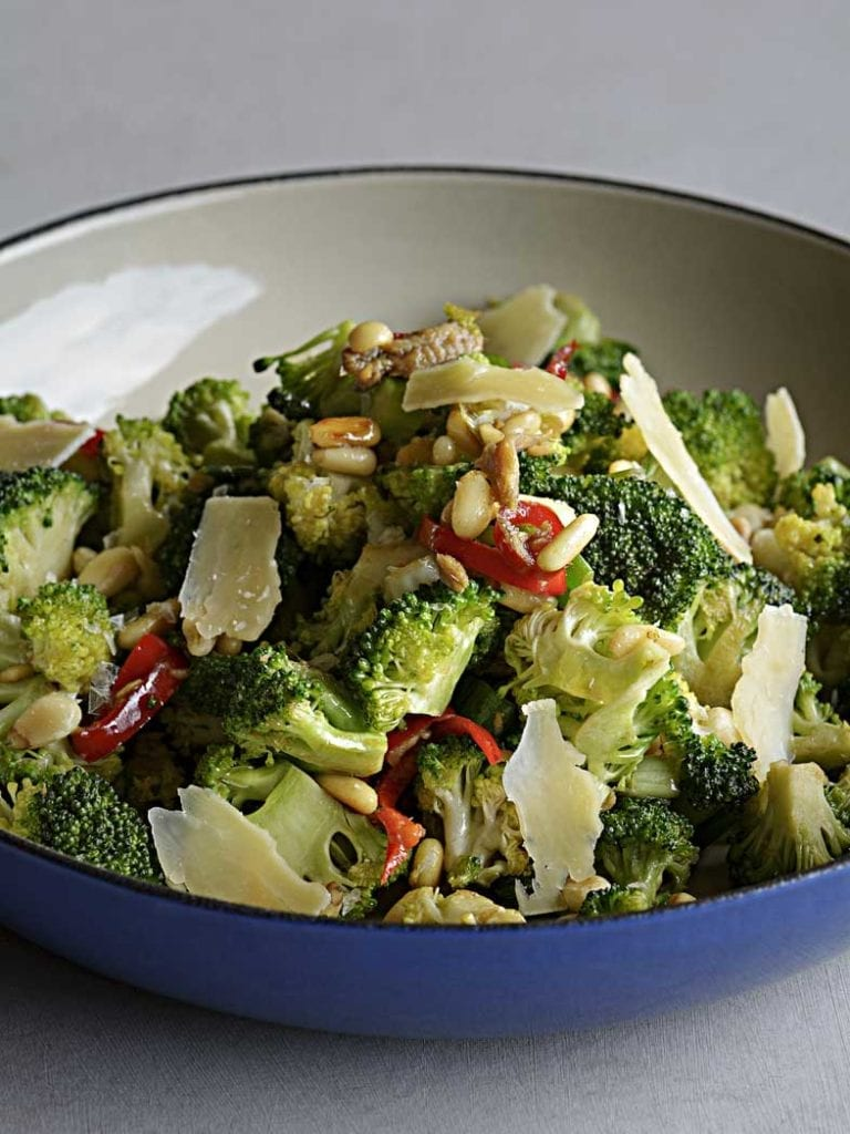 Italian Pan Fried Broccoli