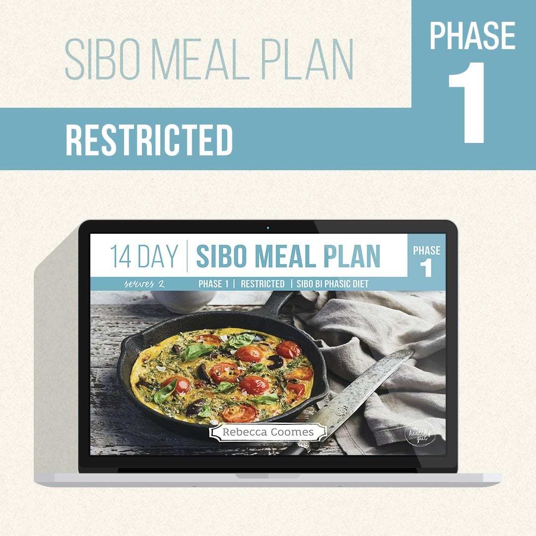 Sibo Meal Plans Covers R 1