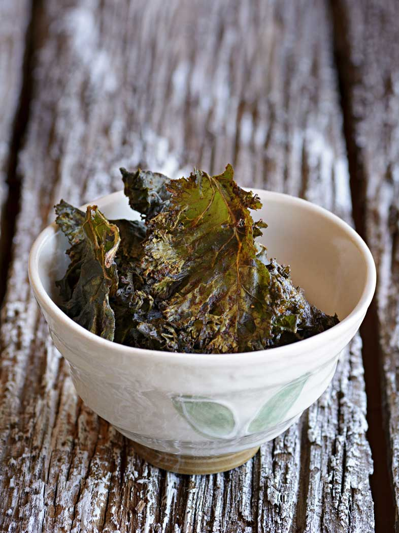 Smoke Paprika Kale Chips