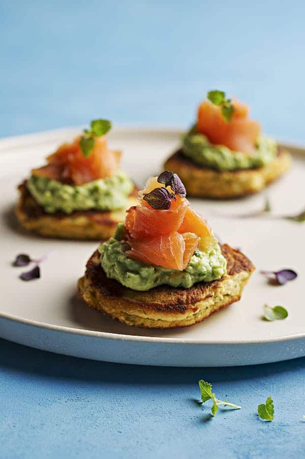Smoked Salmon Blinis Web