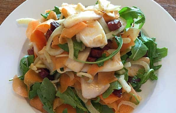 Rebecca Coomes Recipes Squid Salad