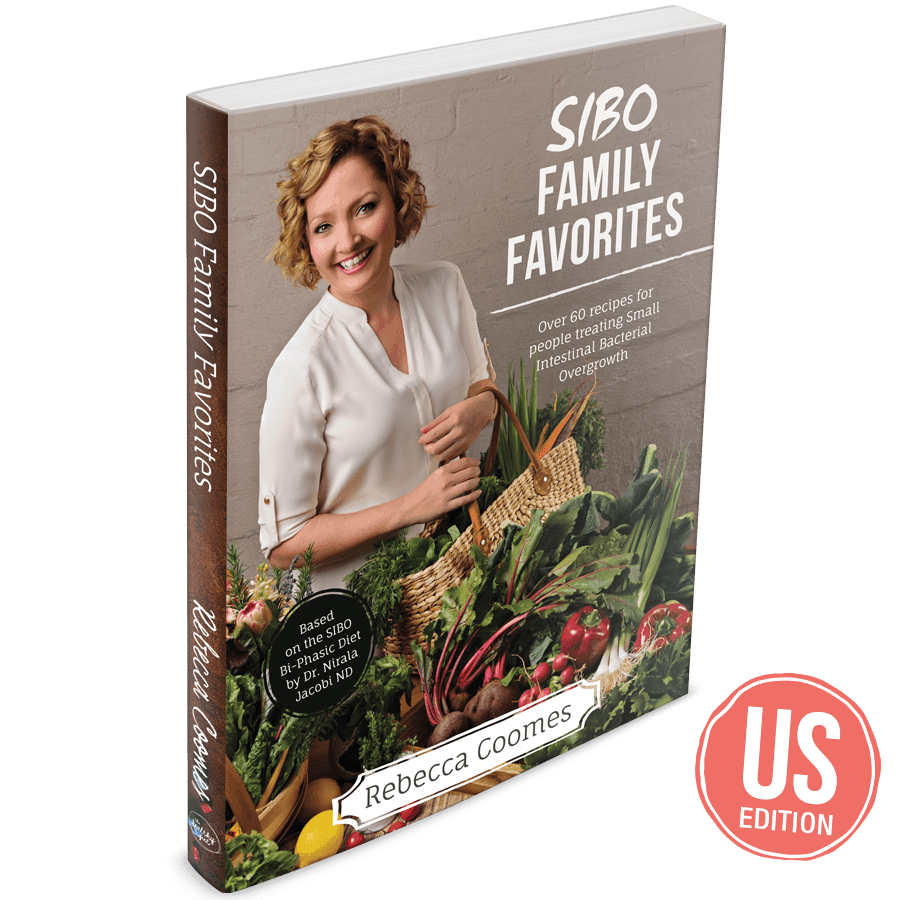SIBO Family Favorites Cookbook (US edition)