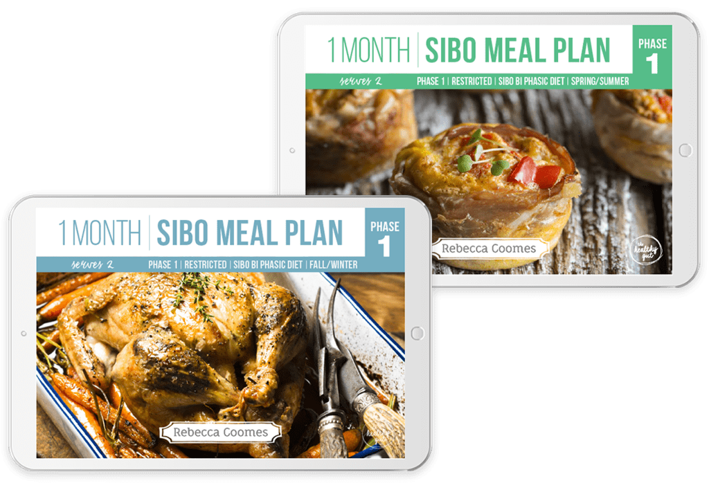 Monthly Sibo Meal Plans 2 Covers