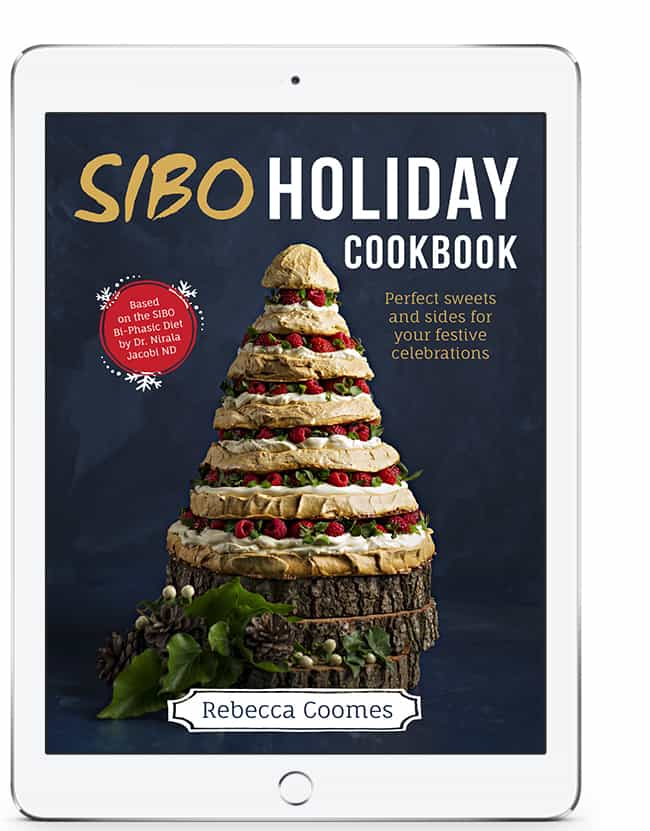 SIBO Holiday Cookbook by Rebecca Coomes