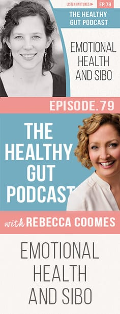 Rebecca and Dr Meyers discuss the gut-brain axis, the effect of anxiety and a heightened nervous system on your digestion and why emotional health is a big part of the gut health puzzle.