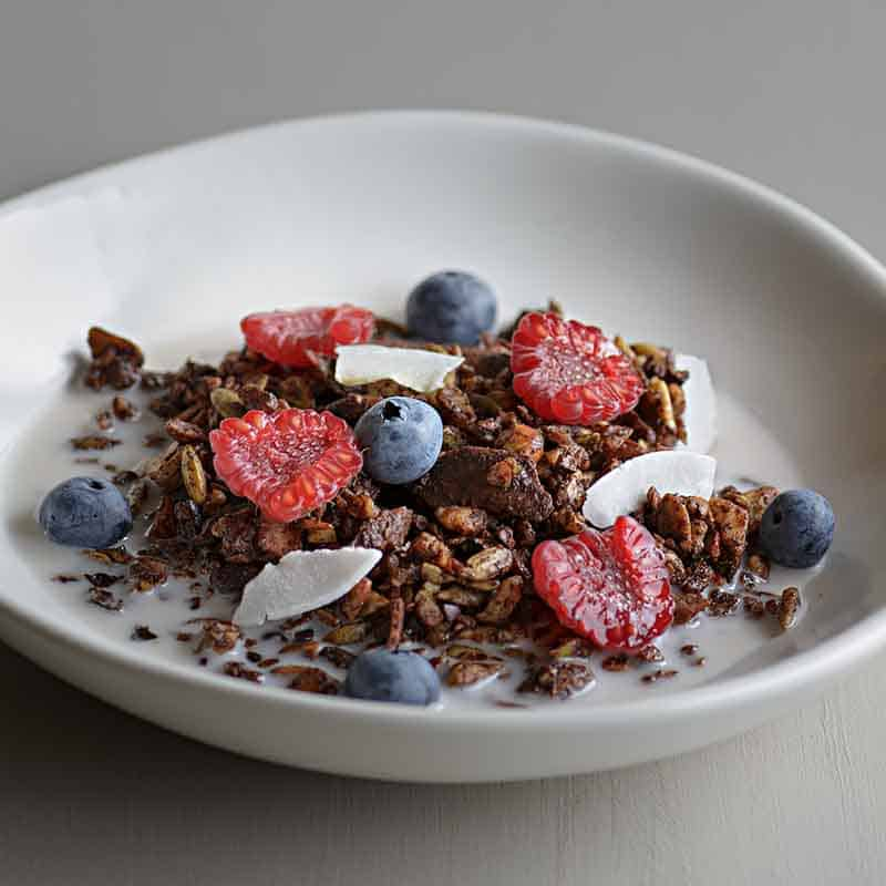 Chocolate Granola Recipe 800x800