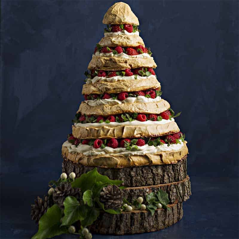 Christmas Meringue Tree Recipe 800x800