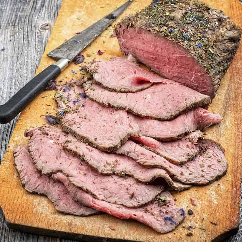 Herb Crusted Roast Beef Recipe 800x800