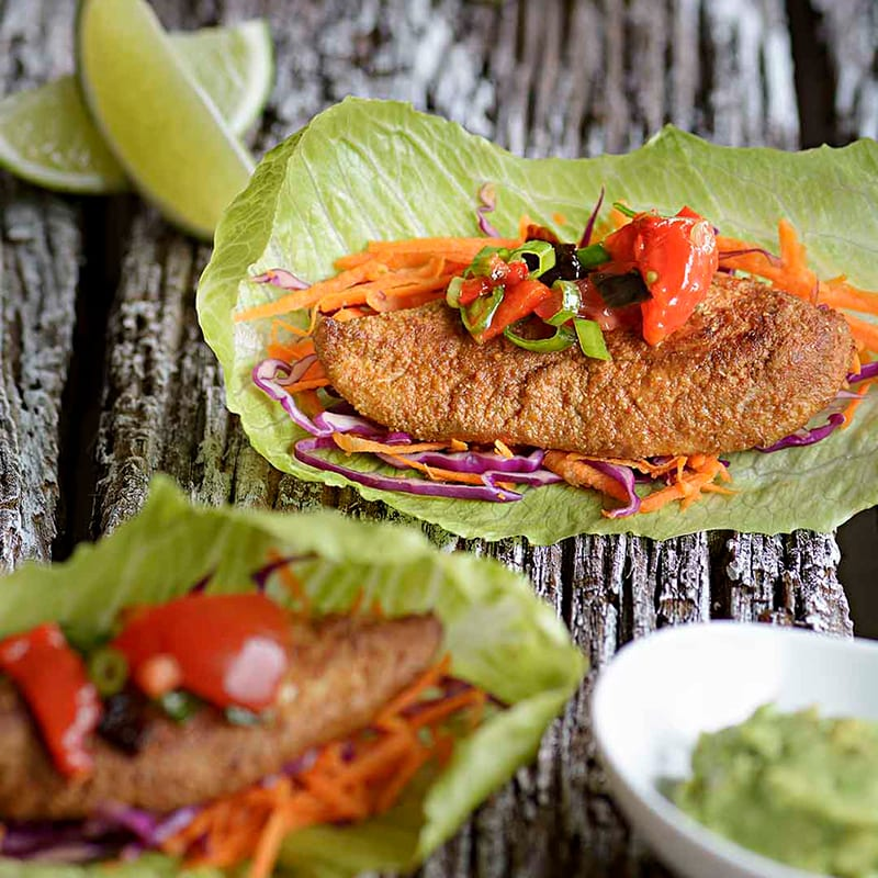 Crunchy Chicken Tacos Recipe 800x800