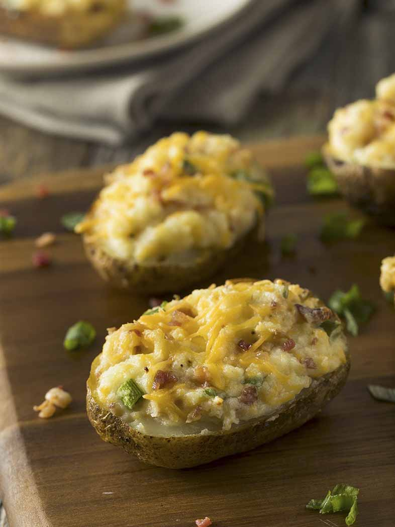 Loaded Potato Skins Recipe 786x1048