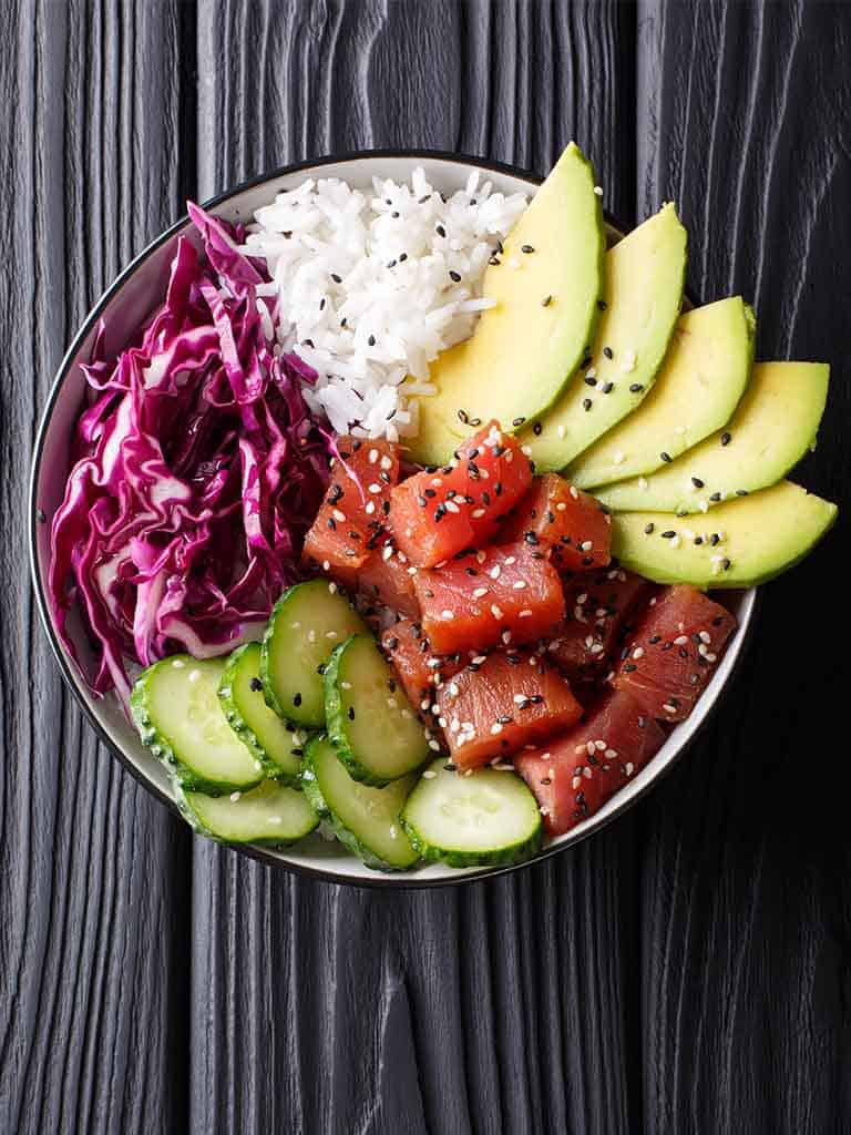 Tuna Poke Bowl Recipe 786x1024