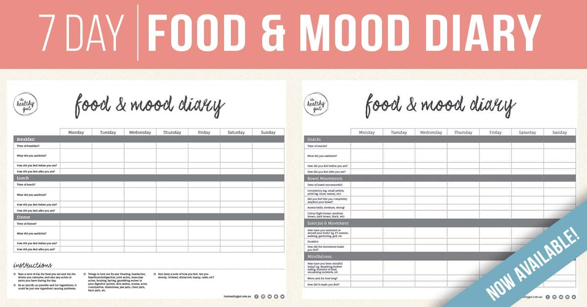 Food & Mood Diary Promo Fb