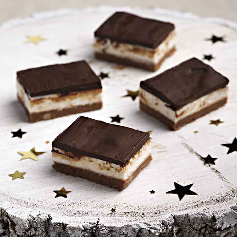 Choc Mint Slice Recipe 800x800