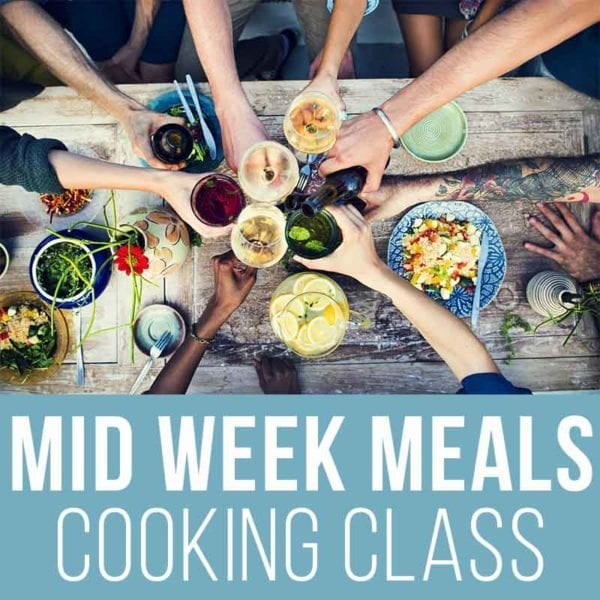 Quick And Easy Mid Week Meals Cooking Classes 800x800