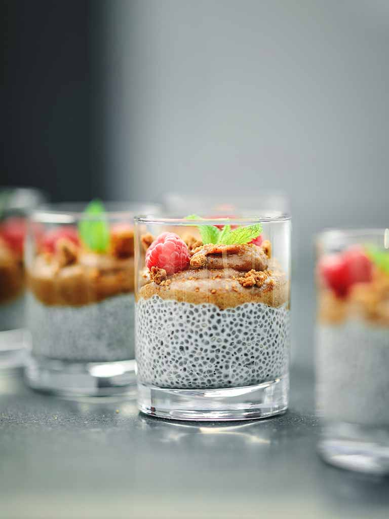 Nut Butter Chia Breakfast Bowls Recipe 786x1024