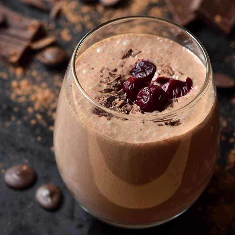Black Forest Smoothie Recipe 800x800