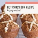 Rebecca Coomes The Healthy Gut Hot Cross Bun recipe