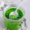 Low FODMAP Basil Pesto Recipe 786x1024